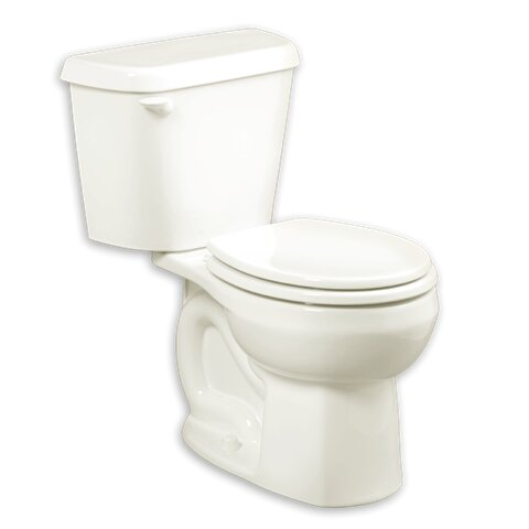 Colony 1.6 GPF Round Two-Piece Toilet (Seat Not Included) by American Standard