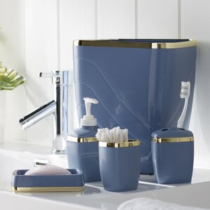 Navy Blue Bath Accessories   Wayfair