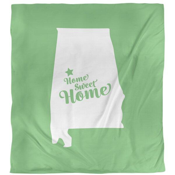 Home Sweet Tuscaloosa Single Duvet Cover