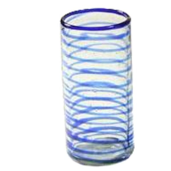Whirlwind 9 oz.Glass (Set of 4) by Novica