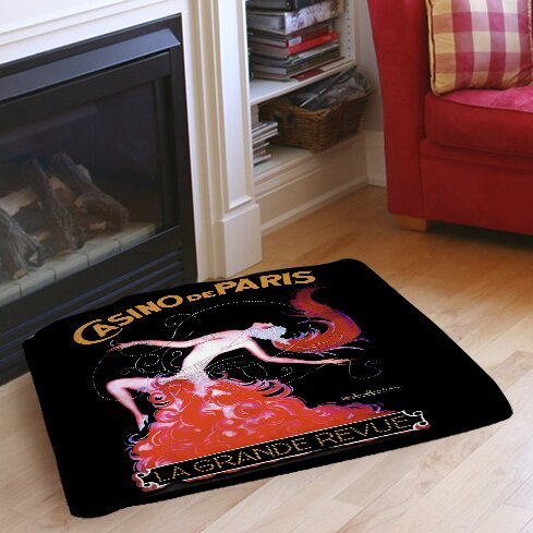 Casino De Paris Indoor/Outdoor Pet Bed by Manual Woodworkers & Weavers