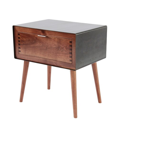 Haven 1 Drawer Nightstand By Corrigan Studio by Corrigan Studio Comparison