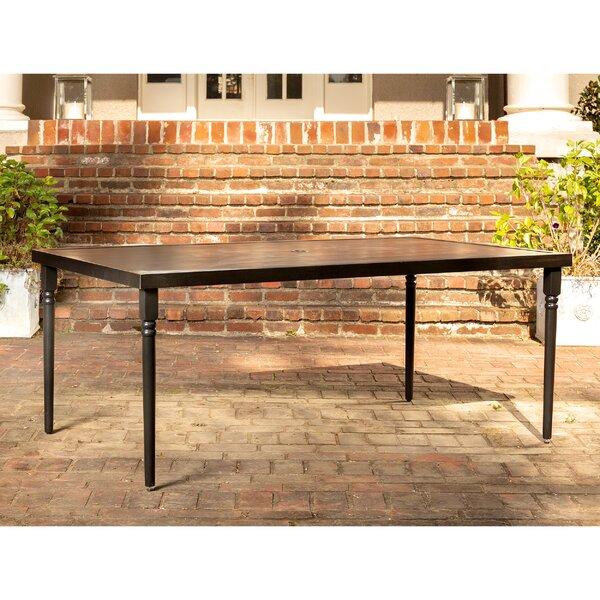 Addyson Aluminum Dining Table by La-Z-Boy