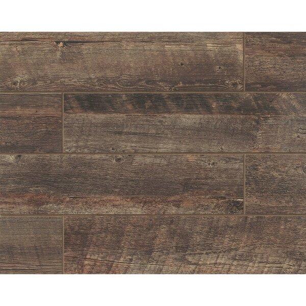 Barrel 6 x 24 Porcelain Wood Look/Field Tile in Vine by Grayson Martin