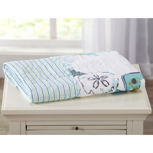 Juliana Embroidered Printed Quilted Throw by Highland Dunes