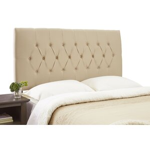 Dublin Contemporary Adjustable Upholstered Panel Headboard by Alcott Hill