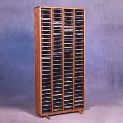320 CD Multimedia Storage Rack by Rebrilliant