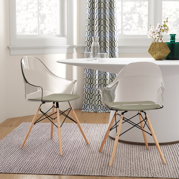 Beyer Dining Chair (Set of 2) by Mercury Row