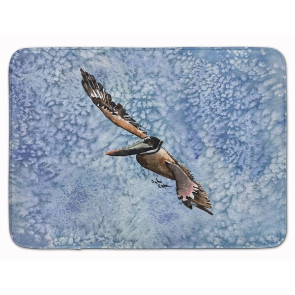 Pelican Memory Foam Bath Rug by East Urban Home