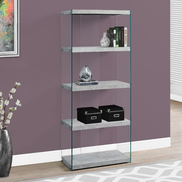 Angelika Standard Bookcase By Wrought Studio