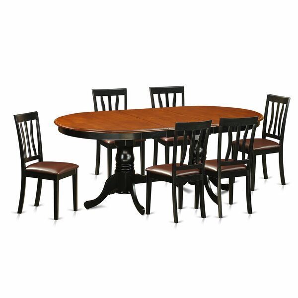 Germantown 7 Piece Extendable Dining Set by Darby Home Co Darby Home Co