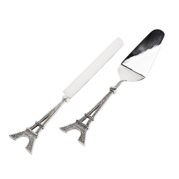 2 Piece Knife Set by Godinger Silver Art Co