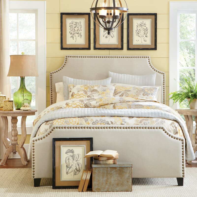 Parker Upholstered Panel Bed