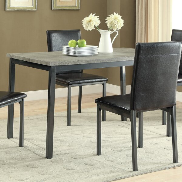 Hagerty 5 Piece Dining Set by Wrought Studio