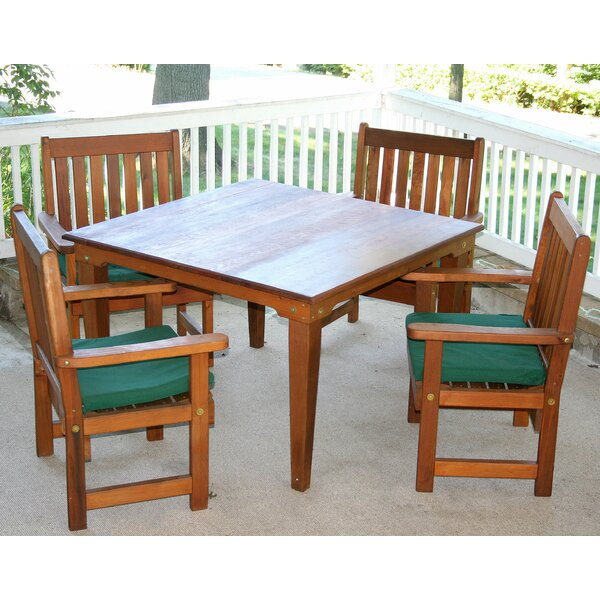 Tignall 5 Piece Dining Set by Millwood Pines