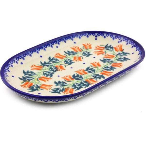 California Poppies Platter by Polmedia