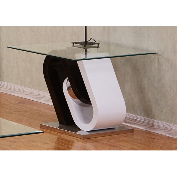 Brook Top End Table by Orren Ellis