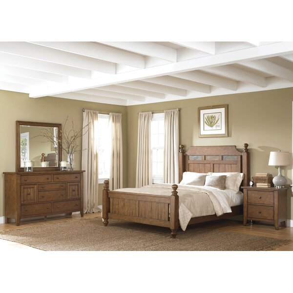 Methuen Four Poster Configurable Bedroom Set by Loon Peak