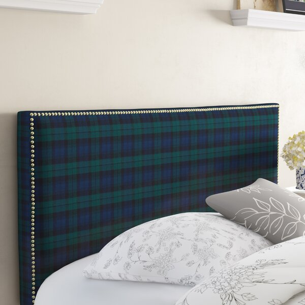 Albertine Upholstered Panel Headboard by Darby Home Co