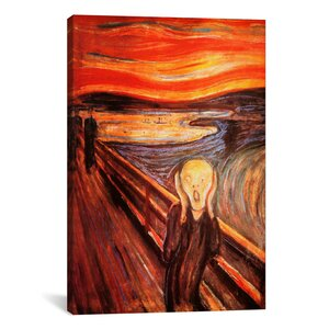 'The Scream' by Edvard Munch Painting Print on Canvas by iCanvas