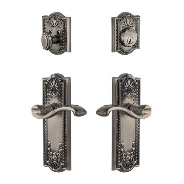 Parthenon Single Cylinder Lever Combo Pack by Grandeur