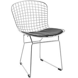 bertoia inspired side chair