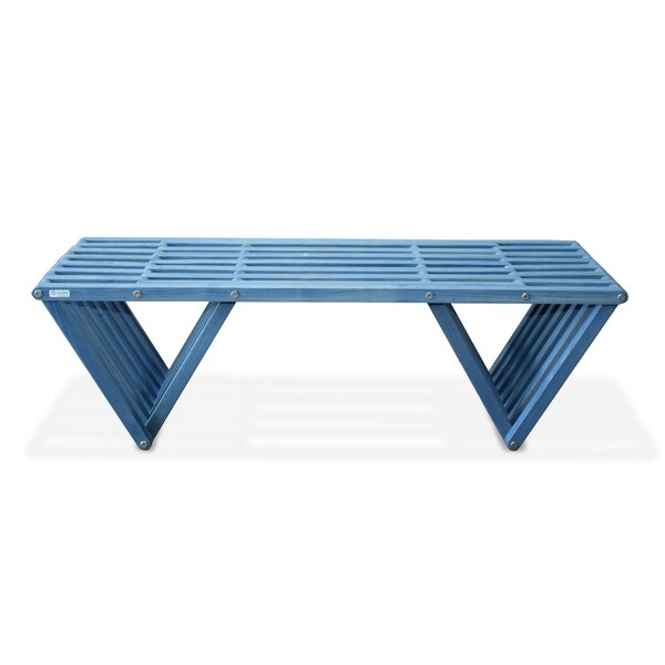 Darende Eco Friendly Wooden Bench by Union Rustic Union Rustic