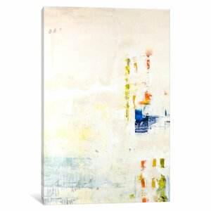 'Serenity I' Painting Print on Wrapped Canvas by East Urban Home
