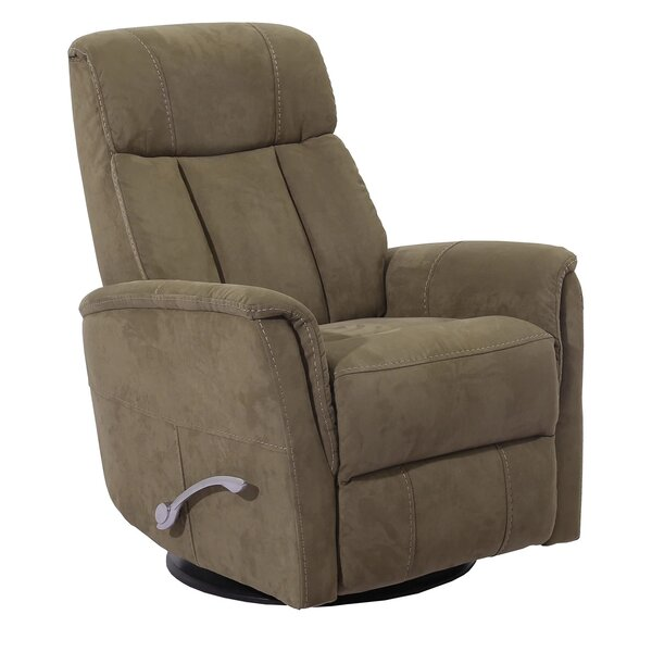Lobato Manual Swivel Glider Recliner With Articulating Headrest By Winston Porter