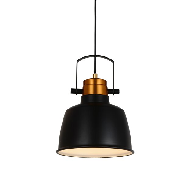 Arezzo 1-Light  LED Bell Pendant by Cocoweb