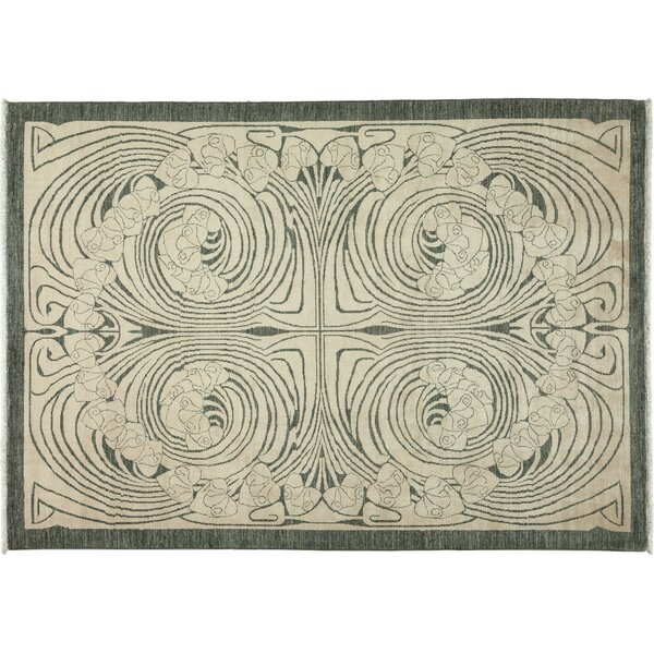 One-of-a-Kind Shalimar Hand-Knotted Ivory Area Rug by Darya Rugs