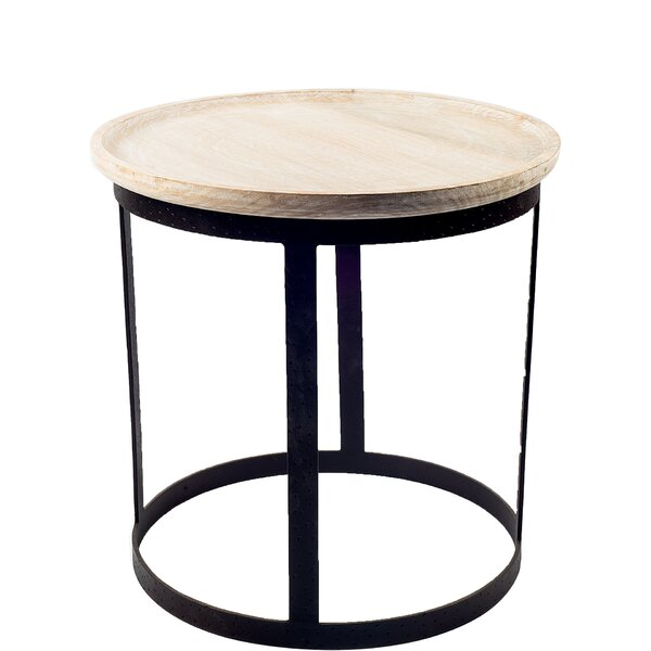 Battershell End Table By Gracie Oaks