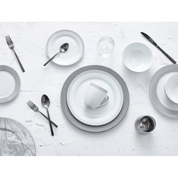 Lowry 16 Piece Dinnerware Set, Service for 4 by Orren Ellis