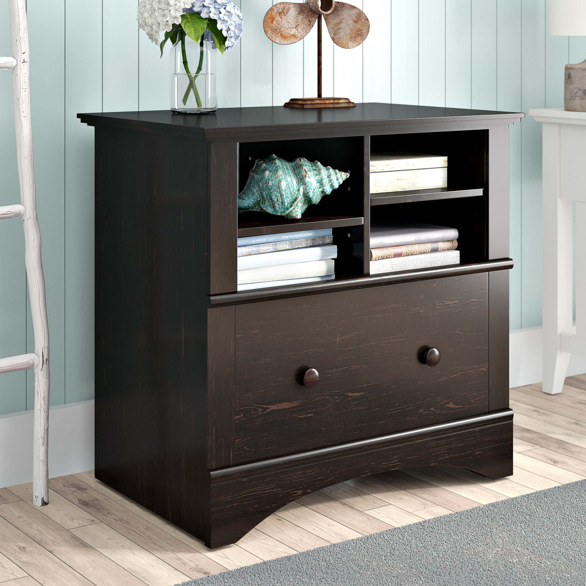 Beachcrest Home Pinellas 1 Drawer Lateral Filing Cabinet Reviews Wayfair