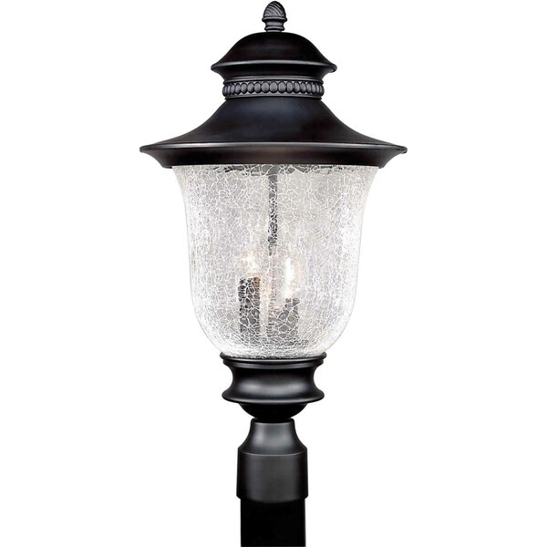 Rockmill Cast Aluminum 3-Light Lantern Head by Three Posts