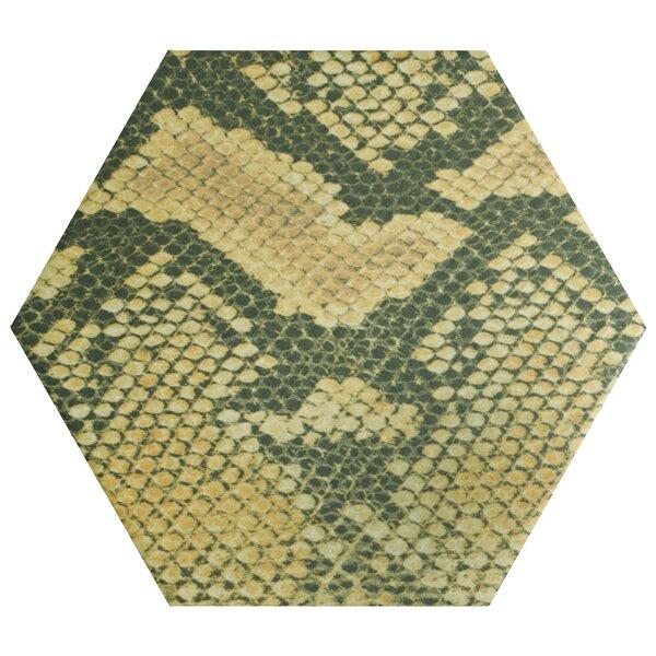 Narra Hex 8.63 x 9.88 Porcelain Field Tile by EliteTile
