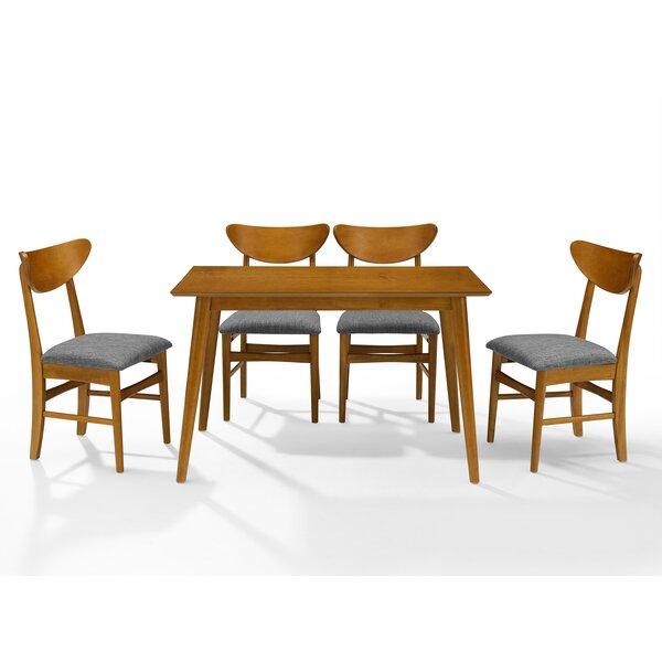 Guthmund 5 Piece Dining Set by Ebern Designs Ebern Designs