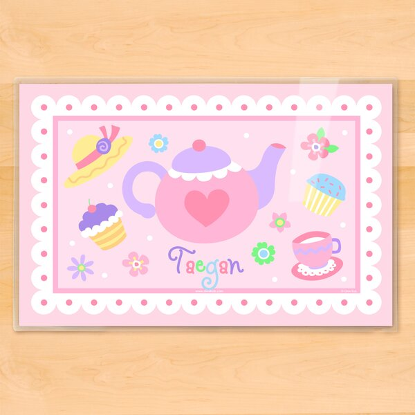 Tea Party Personalized Placemat by Olive Kids