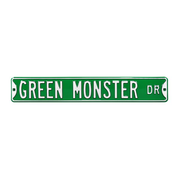 Green Monster Dr - Boston Red Sox Wall Décor by Authentic Street Signs