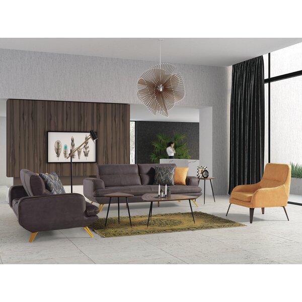 Cockran 3 Piece Reclining Living Room Set By Orren Ellis