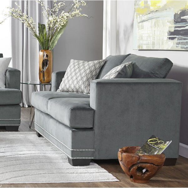 New High-quality Heslin Loveseat by Charlton Home by Charlton Home