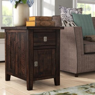 Cadwallader Cabinet Chairside Table