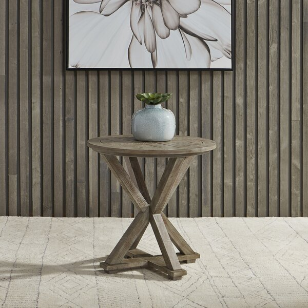 Locust Grove End Table by Gracie Oaks Gracie Oaks