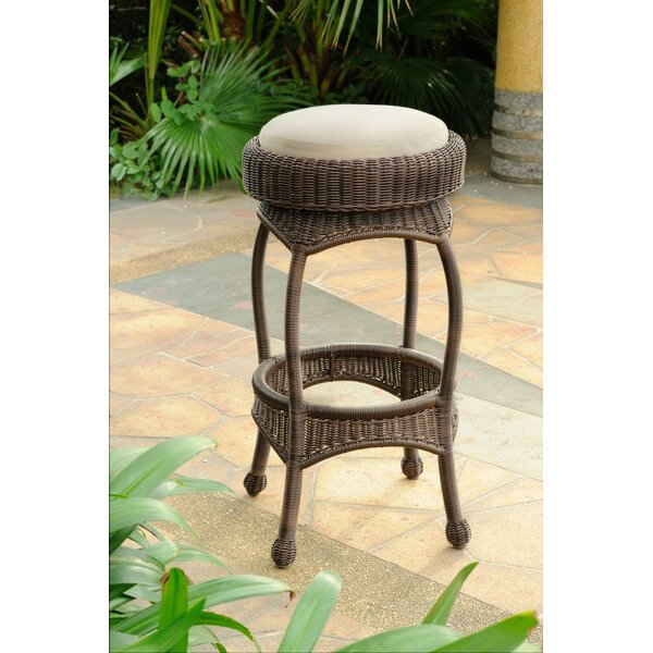 Squire 30 Patio Bar Stool with Cushion by Bay Isle Home