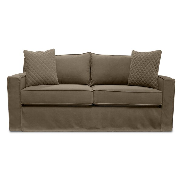 Shop The Complete Collection Of William Slipcover Loveseat by South Cone Home by South Cone Home