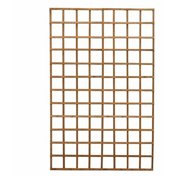 Wood Lattice Panel Trellis by Diamond Teak