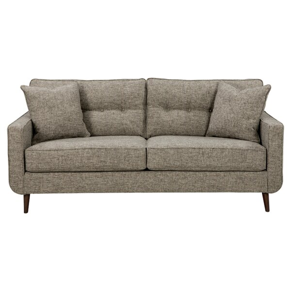 Warrenton 79'' Square Arm Sofa By George Oliver