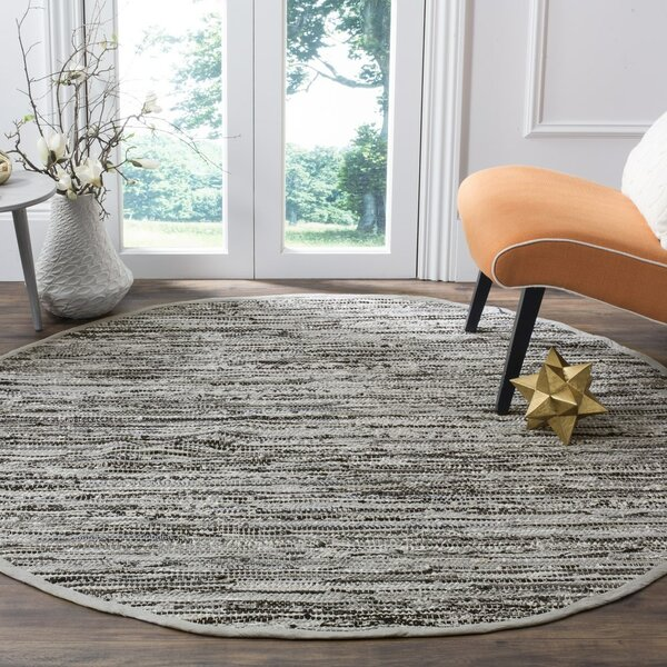 Coffey Hand-Woven Gray Area Rug by Mistana