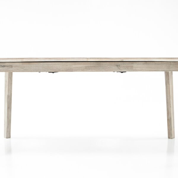 Britton Extension Solid Wood Dining Table by Union Rustic