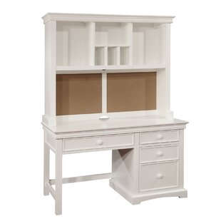 Vernell Desk With Hutch by Harriet Bee